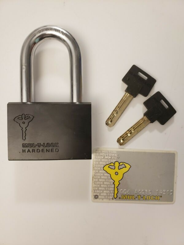 Mul-T-Lock Padlock High Security #13 Removable Shackle