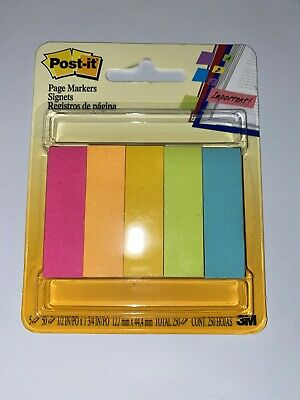 Post-it Post Flags Assorted Colors 12 In X 1 34 In