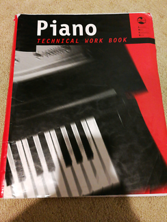 Piano Technical Work Book, by AMEB