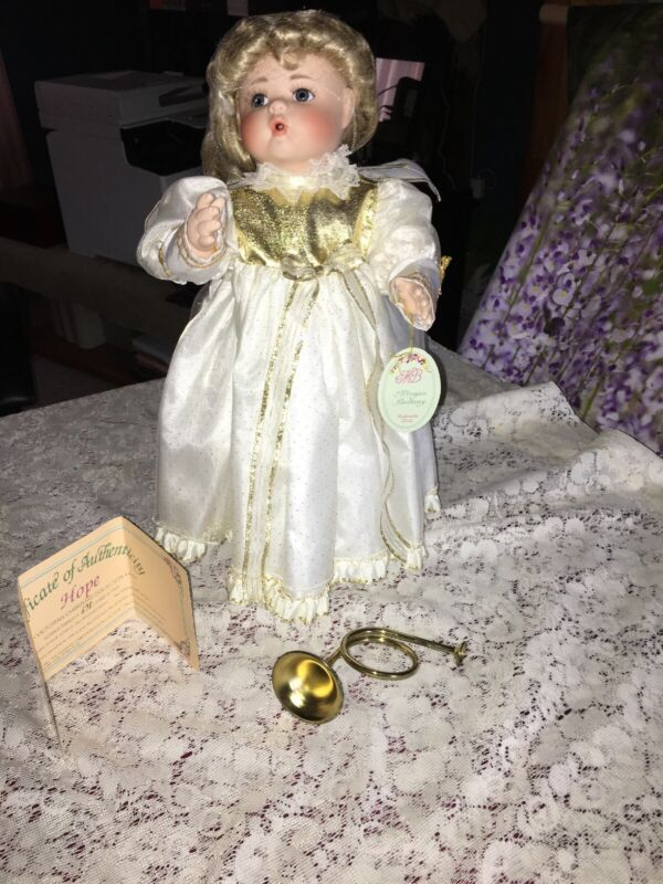 Christmas Angel Doll Hope Morgan Brittany Victorian Christmas Collection 1993