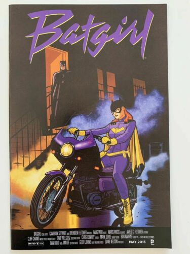 Batgirl #40 Purple Rain Album Homage Cover Variant DC Comics 2015 NM