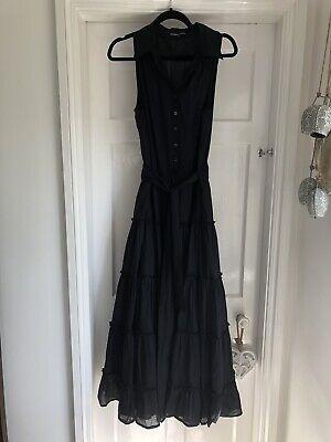 Ilse Jacobsen Hornbaek Black Sleeveless Maxi Dress 40