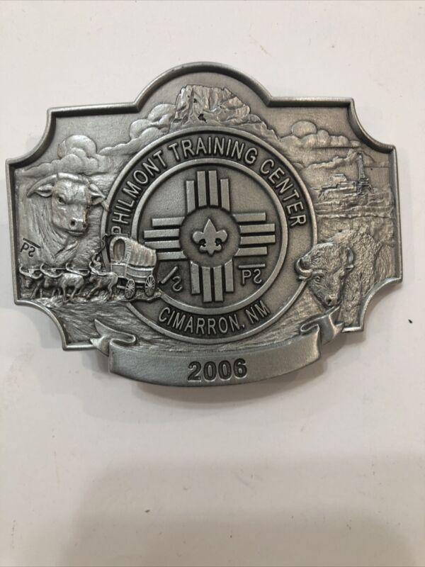 BSA Philmont Training Center Staff Belt Buckle 2006 Mint Condition