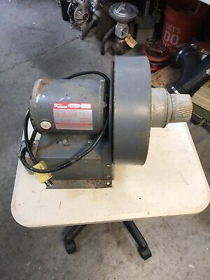 Dayton 2c940 Blower 7.75 Fan With Dayton Motor No.5k586b 115v