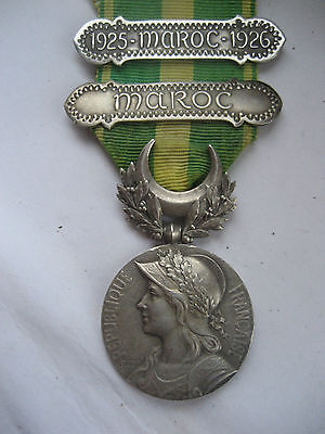 FOREIGN LEGION/FR FORCES COLONIAL MEDAL FOR CAMPAIGNS IN MOROCCO.1920s