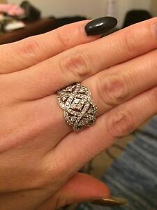 Michael hill diamond ring dtw 1.5 carats Beaconsfield Fremantle Area Preview