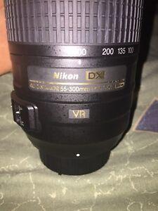 Nikon DX af-s nikkor 55-300mm 1:4,5-5.6GED