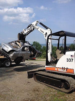 Bobcat Hydraulic Mini Excavator Thumb Pin On Grapple Clamp Claw 337 341 Xchange