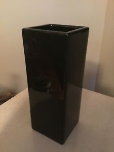 Beautiful black vases