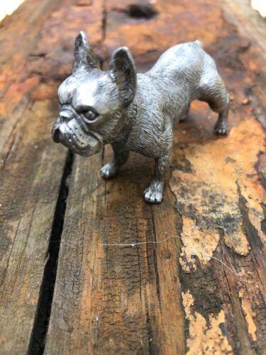 French Bull Dog Figurine