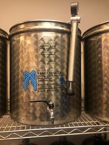 50 L stainless steel. Wine olive oil stainless steel tank