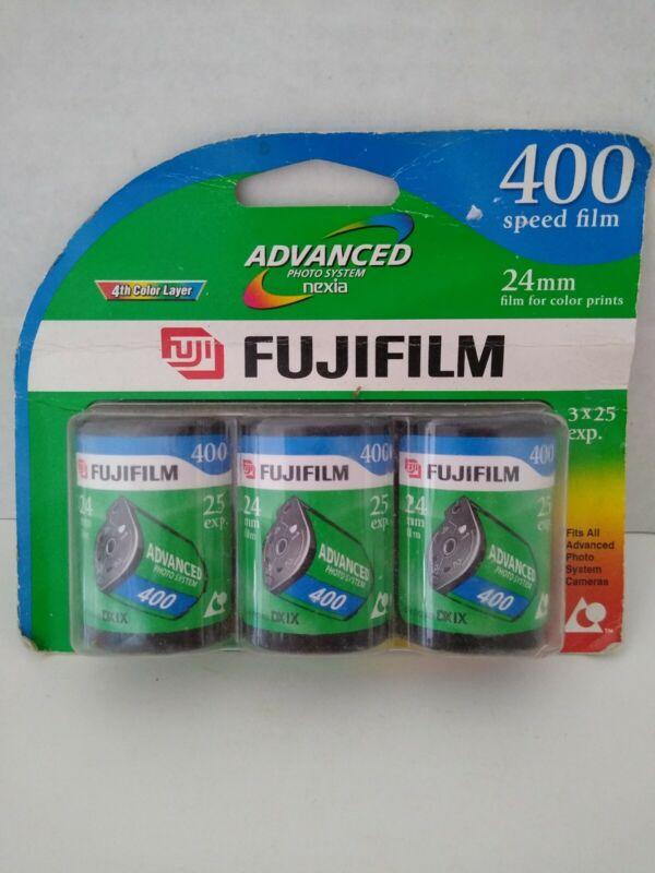 Fujifilm Nexia 400 - Color print film APS Advanced Photo 25 exp. 3 rolls 2007 (t