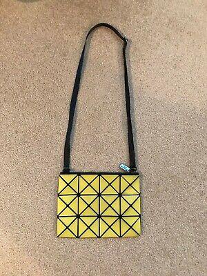 Issey Miyake Bao Bao Yellow Crossbody Bag