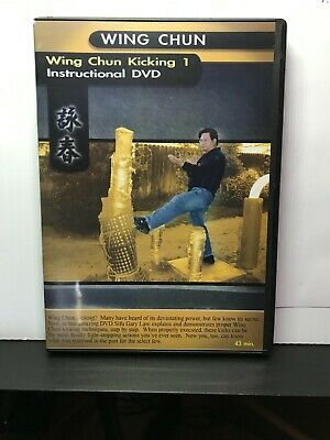 Wing Chun Kicking DVD by Sifu Gary Lam Excellent Condition