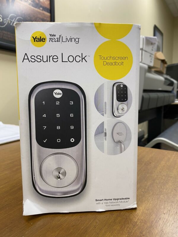 yale assure lock Wireless Deadbolt W/infiNET EX And Touchscreen Keypad, Satun N