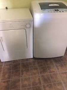 GL potable washer and basement