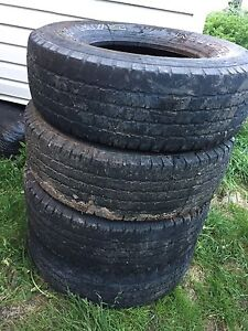 Set of Michelin ltx  265/75 R16