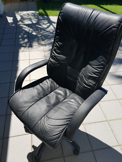 High quality Italian leather Office Chair