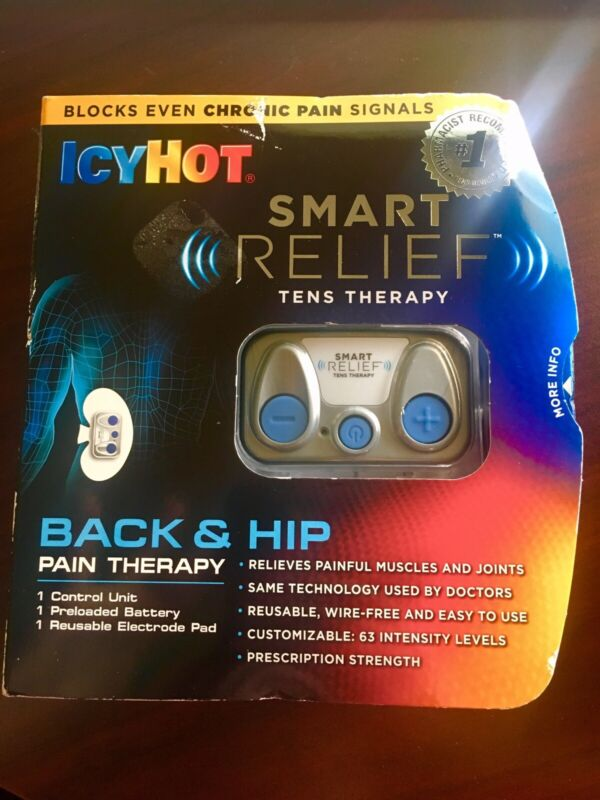 Icy Hot Smart Relief Back & Hip Pain Tens Therapy Starter Kit Control Unit 06/21