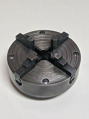 Atlas Craftsman 618 Power Companion Mfg 111.1724 4 Jaw 4 Lathe Chuck