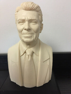 Ronald Reagan Bust Statue Figurine Historical Sculpture  CHRISTMAS IN JULY