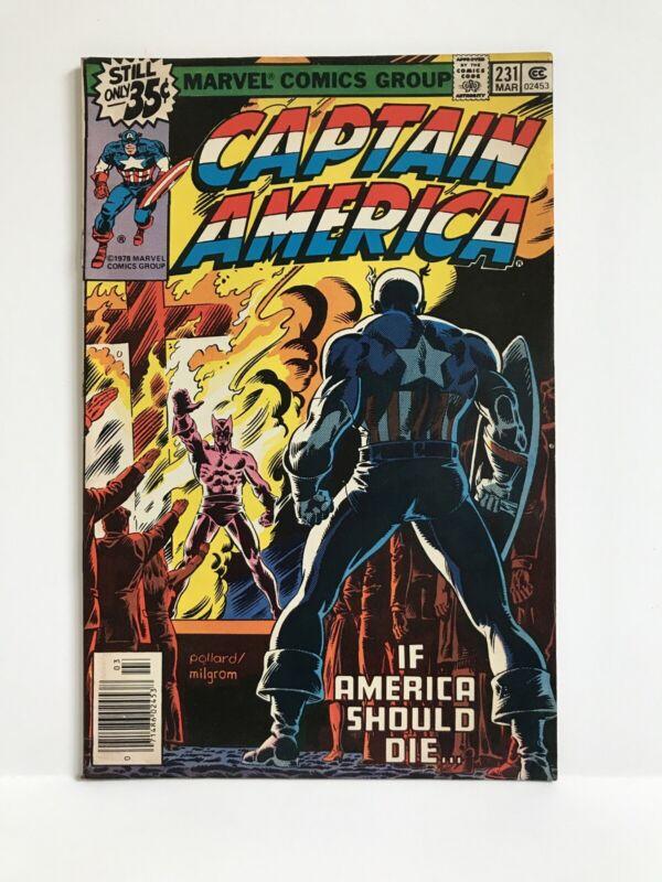 Captain America #231