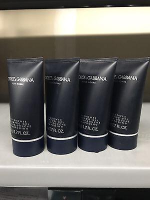 Dolce And Gabbana Men 6.7 Oz Bath And Shower Gel And Shampoo Gel Tube New Dolce & Gabbana Gel Shower Gel