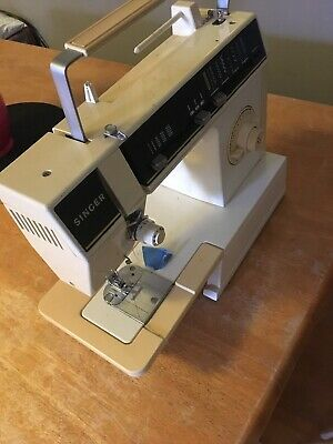 Vintage SINGER 6215C Free Arm Zig-Zag Sewing Machine NO Charging Cord