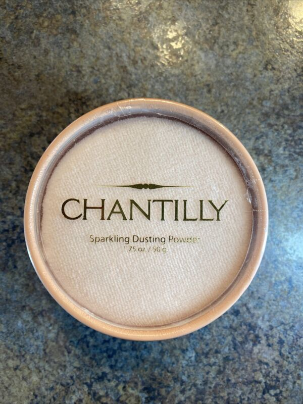 Dana Vintage Chantilly Sparkling Dusting Powder Sealed Discontinued RARE 1.75 OZ