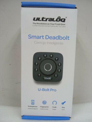 NEW Ultraloq U-BOLT-PRO-UB01 Bluetooth Enabled Fingerprint and Keypad Smart lock