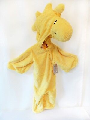 NEW Pottery Barn Kids WOODSTOCK Costume Baby Bird Infant Peanuts Cartoon Chick