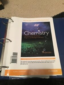 Paperback Chemistry an introduction to Chen