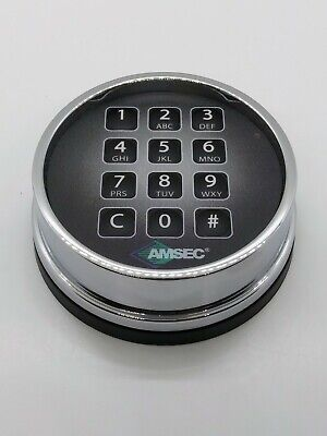 Amsec Esl10xl Polished Chrome Keypad Keypad Doesnt Work