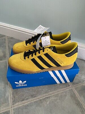 adidas originals beckenbauer Allround UK 10 Yellow Black Sold out Deadstock