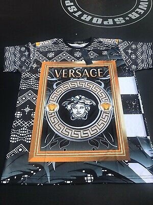 mens versace t shirt S And M