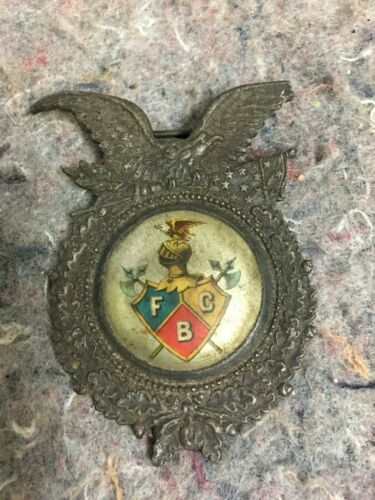 Vintage Fraternal Knights of Pythias Badge With Eagle-F.C.B.