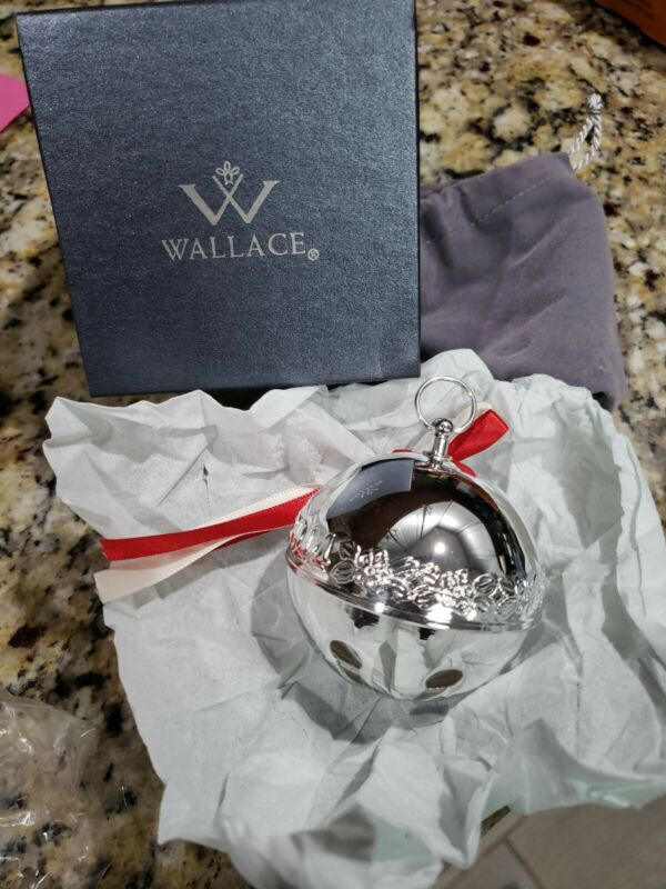 Wallace Silver Christmas Bell 2014