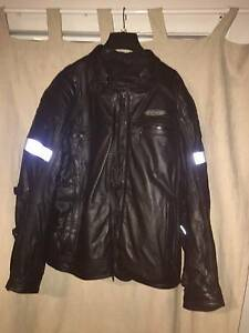 Harley FXRG Leather Jacket Gailes Ipswich City Preview