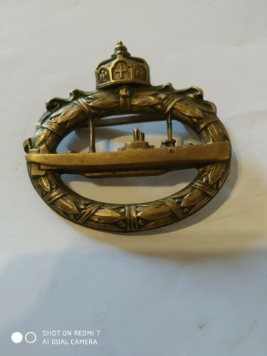 WW1 German Imperial Submarine badge