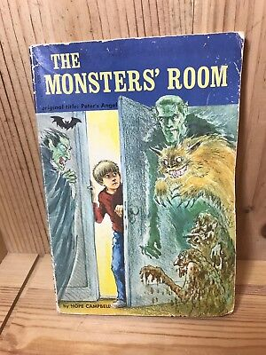 The monsters' Room Hope Cambell Peter's Angel Scholastic Book 1976 - Monsters Halloween Book