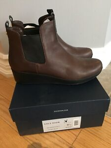 New With Box - Womens Cole Haan Leather Boots - Booties