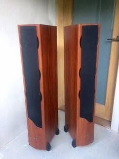 Jensen QX-50 Floor Standing Speakers Sturdy/Heavy 26KG/Each
