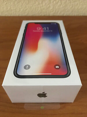 New Iphone X 10 64Gb Space Gray Apple Factory Unlocked Gsm Cdma A1865 Ship Fast