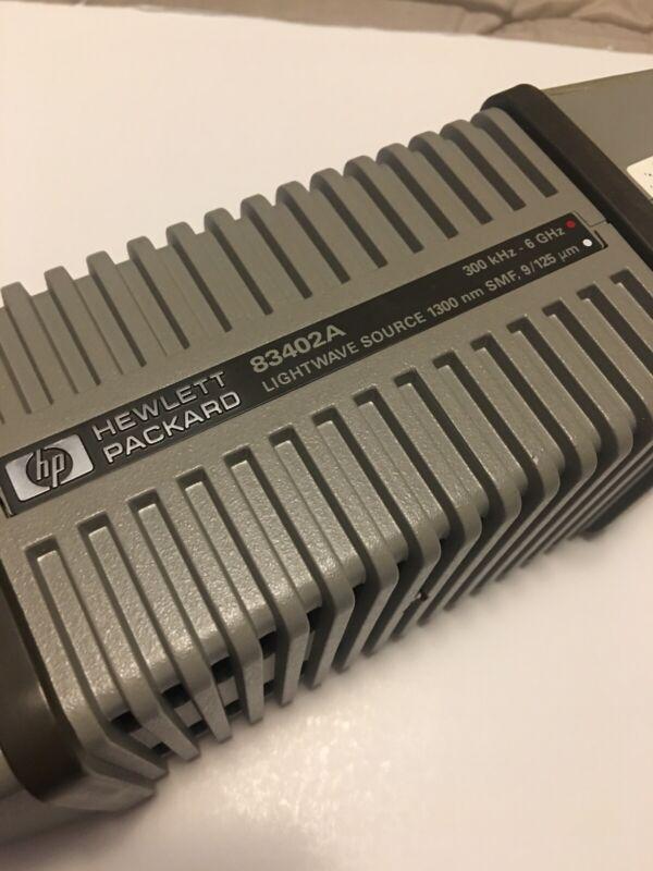 HP 83402A Lightwave Source 300 kHz - 6 GHz