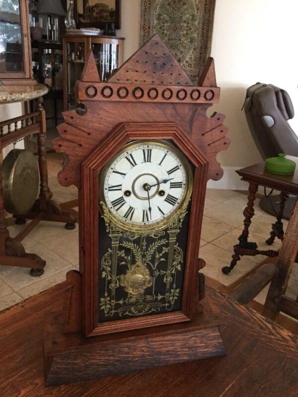 Antique Ansonia Kitchen Or Mantle Or Shelf Clock