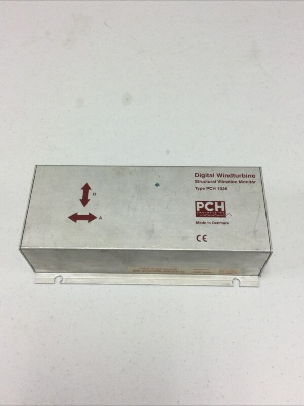PCH Engineering Digital Windturbine Structural Vibration Monitor PCH1026