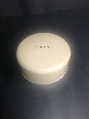 Vintage Cachet perfumed dusting powder with puff