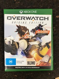 Overwatch Xbox one game