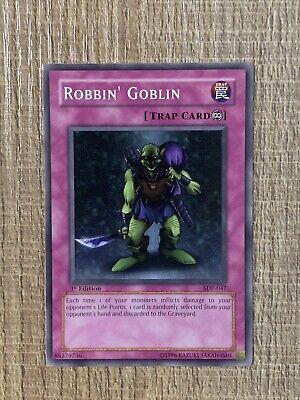 YUGIOH ROBBIN/' GOBLIN RARE MRD-E135 OLD SCHOOL METAL RAIDERS TRAP
