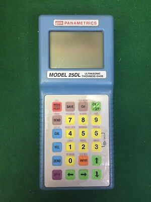 Panametrics Handheld Ultrasonic Thickness Gage 25dl Buy Today 636.00